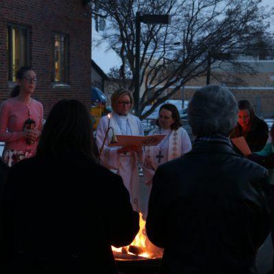Easter Sunrise Bonfire